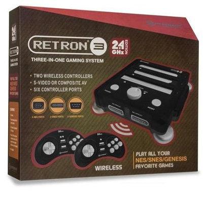 Hyperkin RetroN 3 Gaming Console 2.4 GHz Edition - NES / SNES / Gnensis - (Onxy Black)