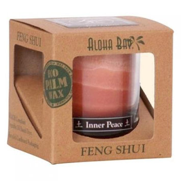 Aloha Bay Feng Shui Elements Palm Wax Candle - Earth/inner Peace - 2.5 Oz