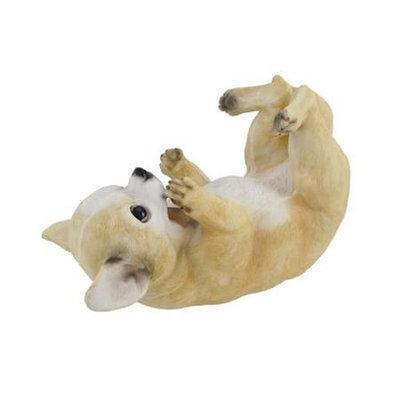 Zeckos Chihuahua Dog Tabletop Single Wine Bottle Holder Display