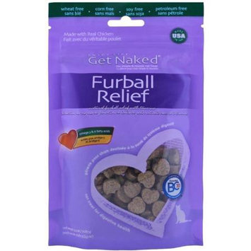 Npic Get Naked Furball Relief Semi-Moist Cat Treats