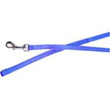 Horseloverz Nylon Chicken Leash 6' Blue