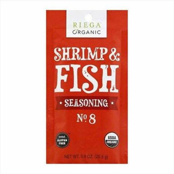 Riega Foods SEASN, OG2, SHRMP & FISH, NO. 8, (Pack of 8)