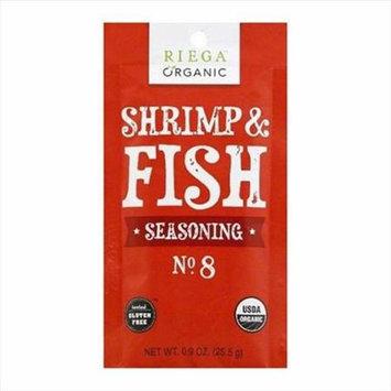 Riega Foods SEASN, OG2, SHRMP & FISH, NO. 8, (Pack of 8)