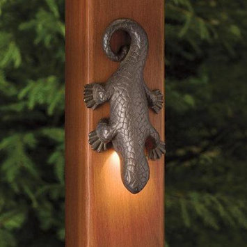 Kichler 15047 Oak Trail Lizard Accent Low Voltage Deck & Patio Light from the Oa