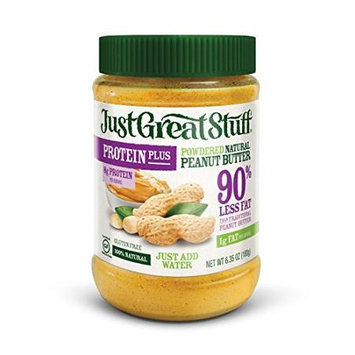 Just Great Stuff PEANUT BUTTER, POWDERED, (Pack of 12)