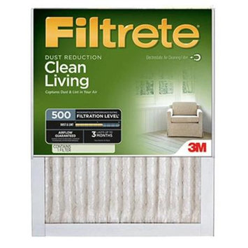 3M 512DC-6 24 x 24 x 1 in. Dust Reduction Filtrete Filter - Green Pack Of 6