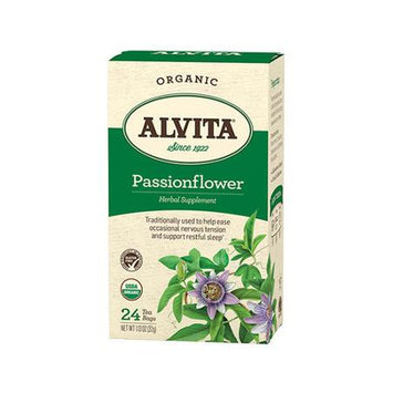 Alvita Tea Organic Herbal Passionflower Tea 24 Bags