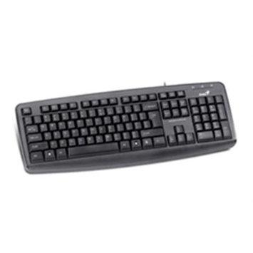 Genius 31300710100 Keyboard Kb-110x Black Ps2 Language English Retail