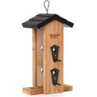tures Way Nature's Way 2 Quart Bamboo Vertical Straight Feeder