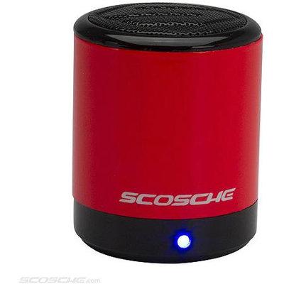 Scosche boomCAN bt Wireless Bluetooth Portable Mini Speaker (Red)
