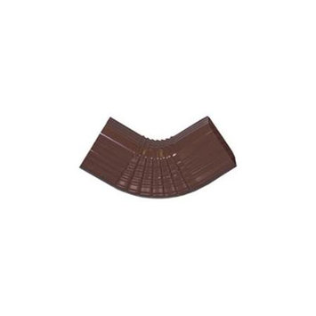 Genova Products 2439784 Elbow Gutter Style B - Brown