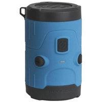 Scosche boomBOTTLE H2O Rugged Waterproof Bluetooth Wireless Speaker (Blue)