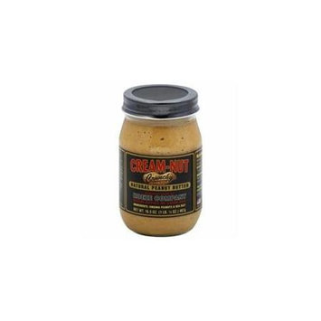 Kehe Distributors CREAM NUT 449645 CREAM NUT PEANUT BUTTER CRNCHY NTRL - Case of 12 - 16.5 OZ