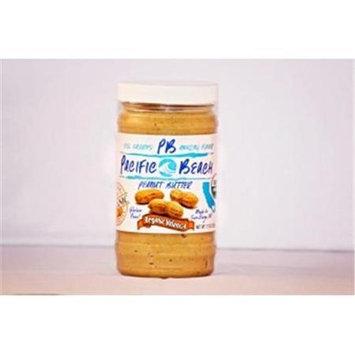Pacific Beach Peanut Butter 020505 Organic Valencia Peanut Butter - Case Of 6
