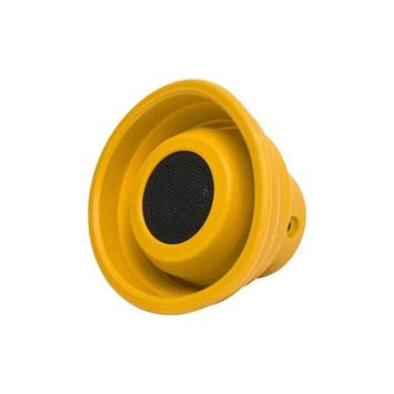 Syba Oblanc X-Horn Portable Bluetooth 2.0 Collapsible Speaker (Yellow)