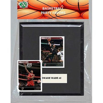 Candicollectables Candlcollectables 67LBHEAT NBA Miami Heat Party Favor With 6 x 7 Mat and Frame
