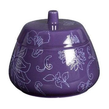 Creative Bath Fine Lines Ceramic Jar