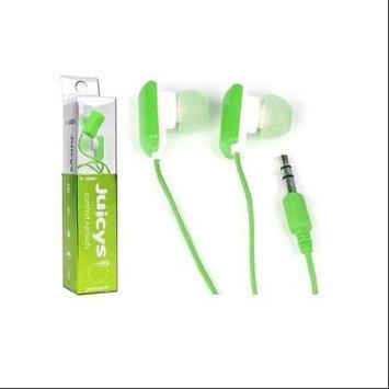 VIBE Juicys Comfort Earbud Stereo Headphones (Green Apple)