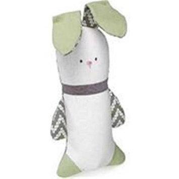 Worldwise Kathy Ireland Loved Ones Crinkle Bunny Dog Toy-Green