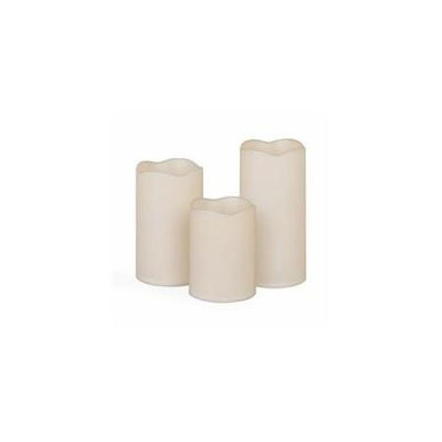 Gerson Company Gerson 42034 3pc Set Wax Cover Candles - Pack of 6