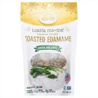 Eda-Zen Toasta ma-me Toasted Edamame Onion and Chive 3.5 oz - Vegan