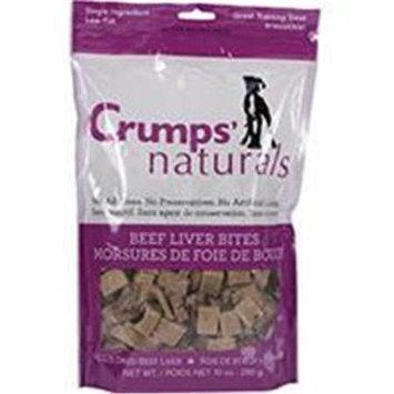 Crump Group Crumps-Naturals Beef Liver Bites 10 Ounce FD-280