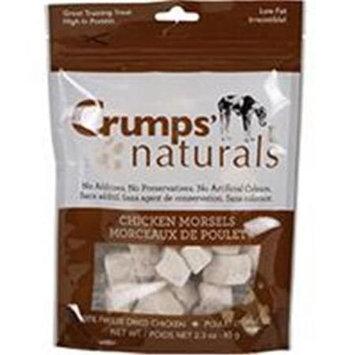 Crumps Naturals Chicken Morsels 2.3 oz.