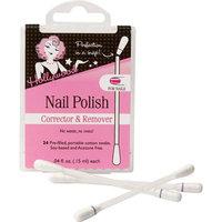 Hollywood Nail Polish Corrector & Remover Cotton Swabs