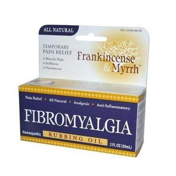 Frankincense & Myrrh Neck Shoulder & Knee Rubbing Oil - 2 Fluid Ounces