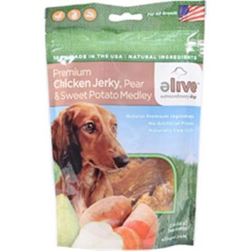 ELIVE Premium Chicken Jerky With Pear And Sweet Potato