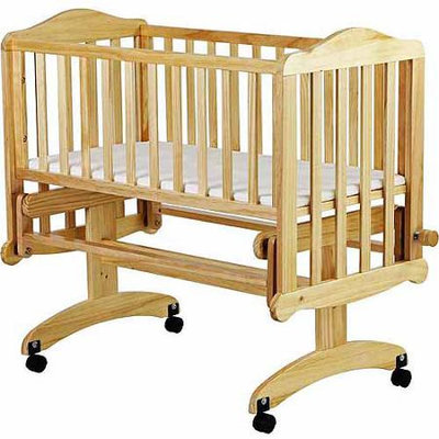 Dream On Me Lullaby Cradle Glider - Natural