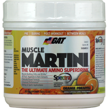 GAT Muscle Martini Orange Pineapple 30 Servings