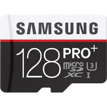 Samsung - Pro+ 128GB Microsd Class 10 Memory Card - Black