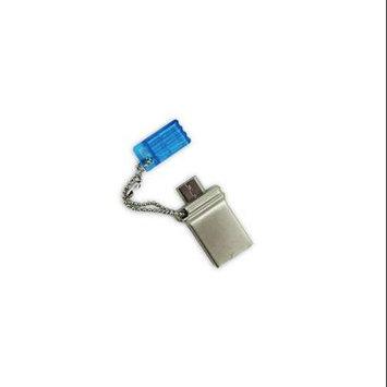 Super Talent Pico Motile 32GB USB 2.0 Flash Drive (Blue)