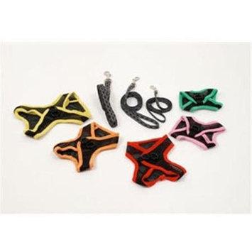 EGR AISS M PI Medium Harness and Leash- Pink