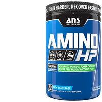ANS Performance Amino HP Advanced BCAA Caffeine Free Icy Blue Razz, 360 Gram