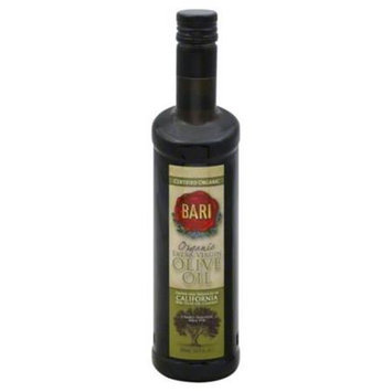 Bari Olive Oil Organic Extra Virgin & California 500 Ml. Case Of 6