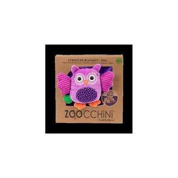 Zoocchini 14003 Baby Buddy Blanket with Owl Purple