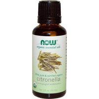 NOW Foods - Organic Essential Oil Citronella - 1 oz.