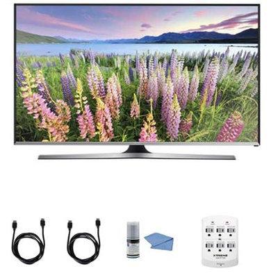 Samsung - Bundle UN50J5500 - 50-Inch Full HD 1080p Smart LED HDTV + Hookup Kit - E1SAMUN50J5500