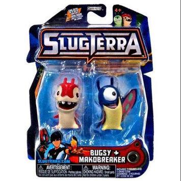 Jakks Pacific Slugterra Basic Figure 2-Pack - Makobreaker and Bugsy