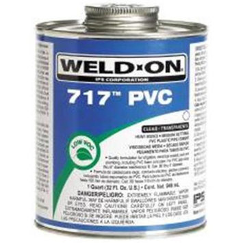 Ips Corporation 451178 Weld-On Cement Clear Pvc Heavy Duty