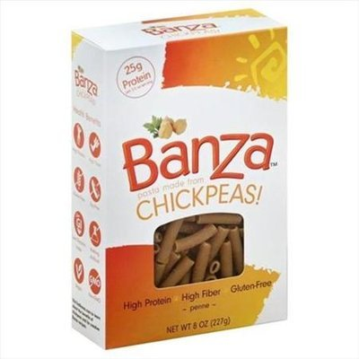 Banza 8 oz. Pasta Chickpea Penne Case Of 6