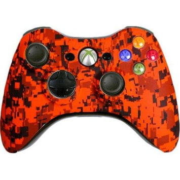 Evil Controllers Custom Xbox 360 Controller: Orange Urban