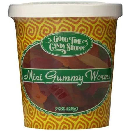 Pepper Creek Farms 195E Mini Gummy Worms - Pack of 12