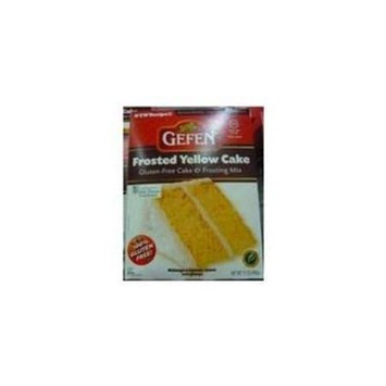 Gefen Mix Cake Ylw Wth Frst Gf - Pack of 12 - SPu676767