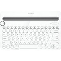 Logitech K480 Bluetooth Multi-Device White Keyboard for iOS/Mac/Android/Windows