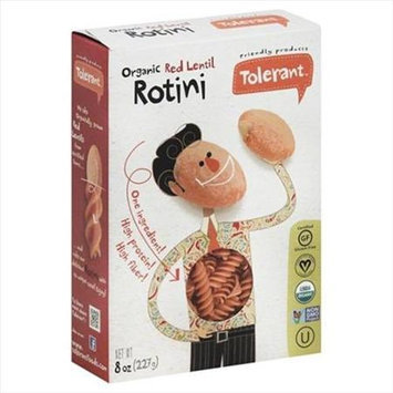 Tolerant 8 oz. Organic Red Lentil Rotini Case Of 6