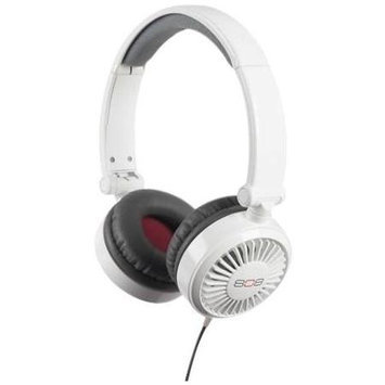 Voxx HPA86WH DRIFT ON EAR HEADPHONE WHITE
