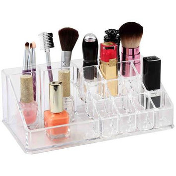 HDS Trading MH41092 Plastic Cosmetic Organizer Rectangle